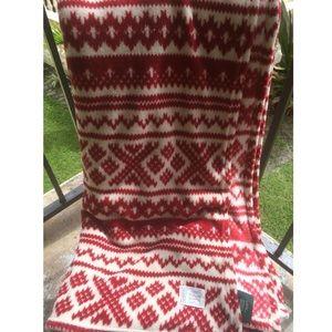 Lauren Ralph Lauren throw blanket holiday